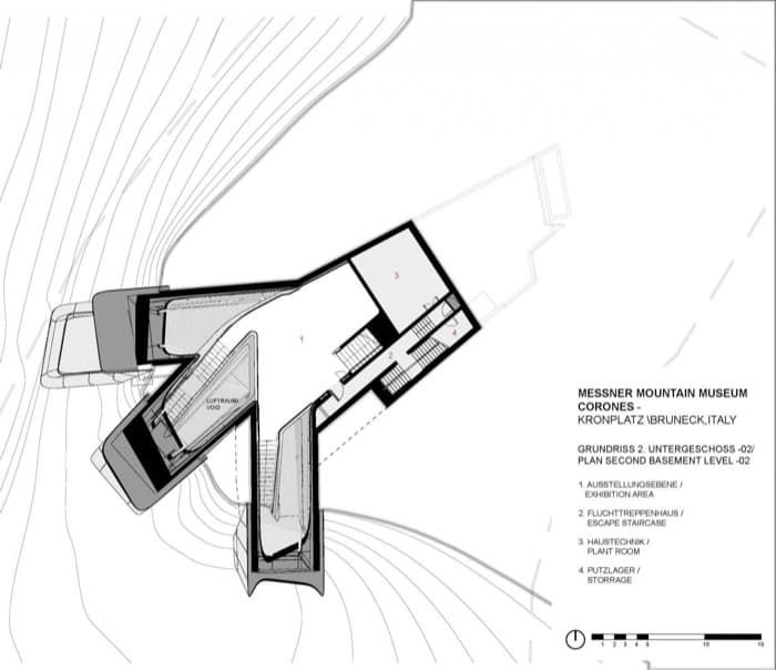 MMM-Museo-Messner-plano-nivel-2