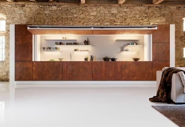 moderna cocina abierta