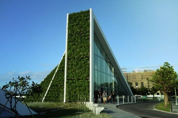 Hualien Residences-jardin-vertical