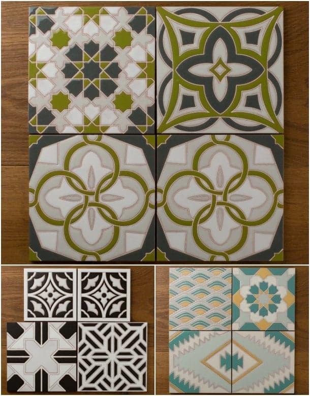 azulejos personalizados Fireclay Tile