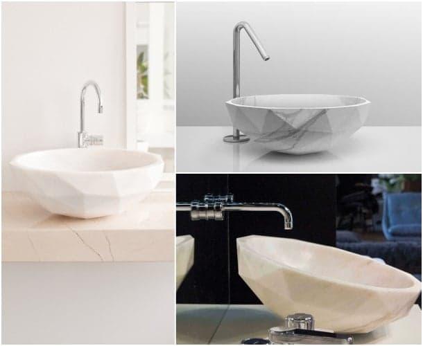 Lavabos de piedra de los dise adores p ulian y m ratti for Marcas lavabos
