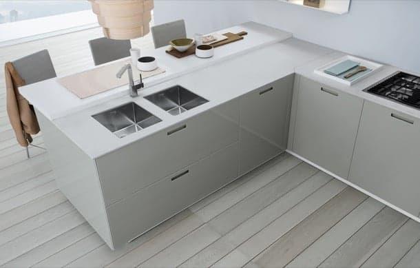 muebles cocina acabado cristal Kyton