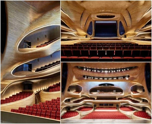 Opera House de Harbin - gran teatro