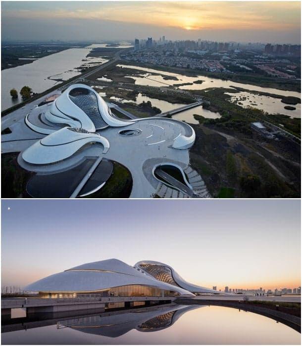 Opera House de Harbin - vistas generales