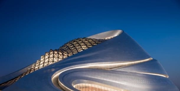 Abre la Opera House de Harbin, diseño de MAD Architects