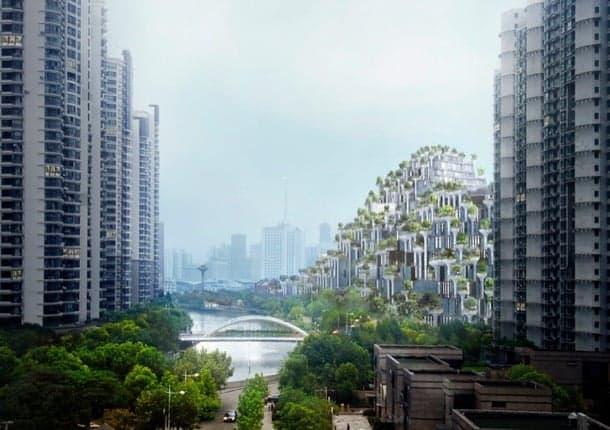 complejo residencial Moganshan Shanghai
