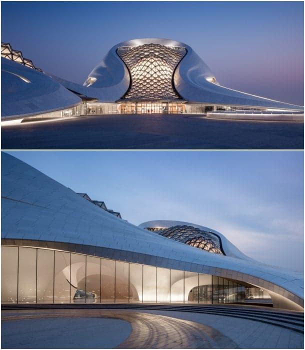 exteriores Opera House de Harbin