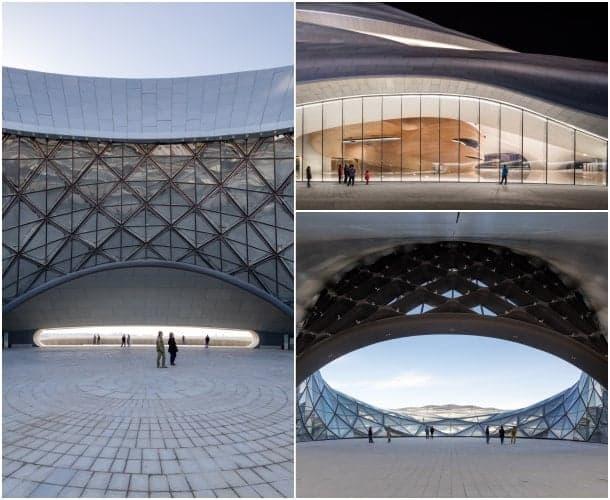 plaza edificio opera Harbin China