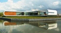 Villa-New-Water-diseño-de-casa-con-sotano