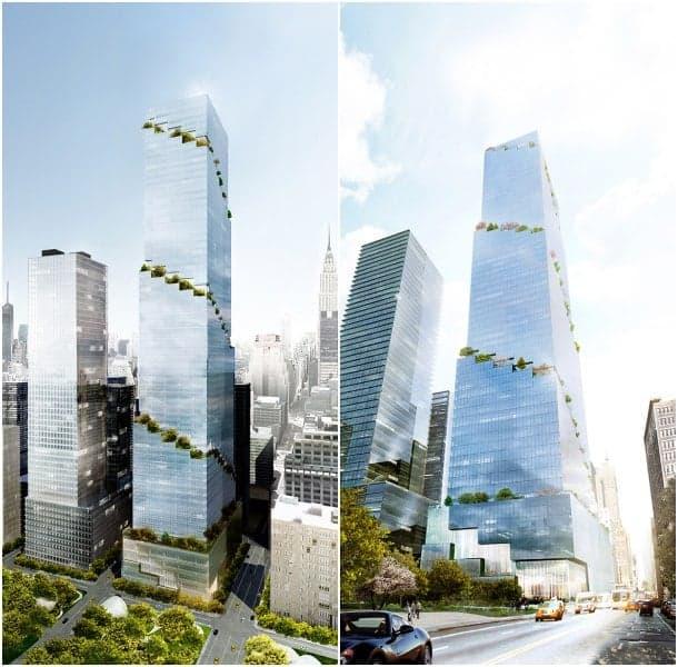 render rascacielos BIG Nueva York