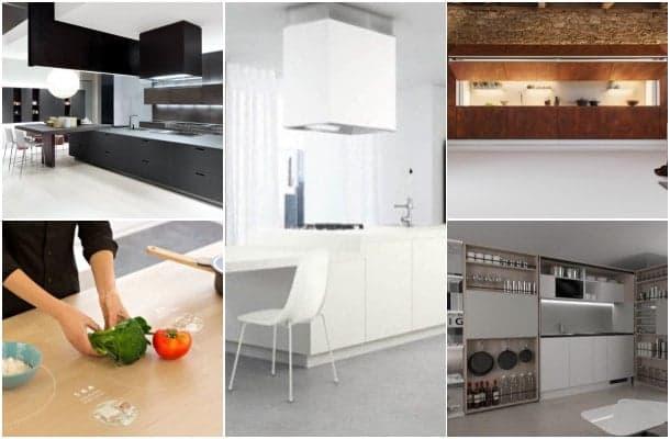 4 Muebles de cocina y una visión del futuro