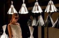 METRONOME: lámparas de colgar, con láminas de aluminio