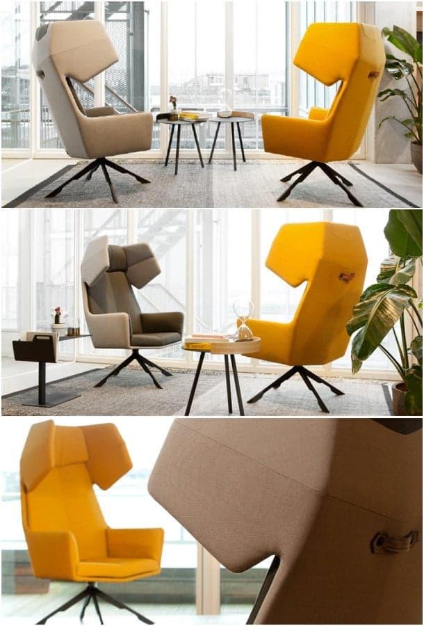 moderno sillón orejero RAMA