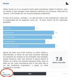 review viviendas unifamiliares en IS-ARQuitectura