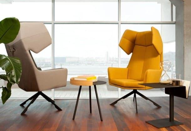 RAMA: un moderno sillón orejero