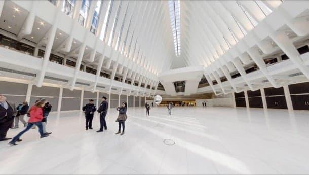 Visita virtual con Roundme al World Trade Center Oculus