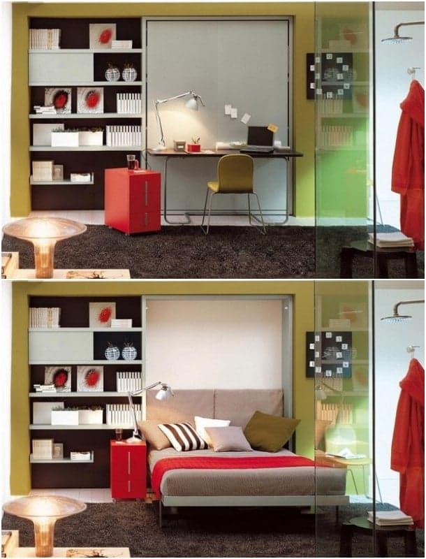 Ulisse-Desk escritorio-cama