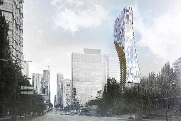 Alberni: rascacielos residencial para Vancouver