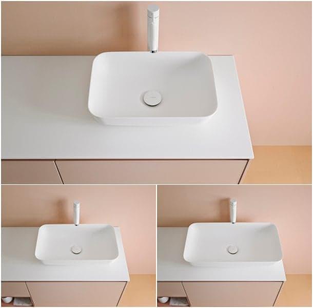 modelos lavabos Quadro-Inbani