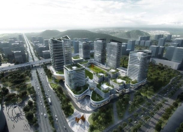 Planificación urbana para parque tecnológico en China