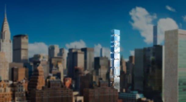 305 East 44th: rascacielos con patios ajardinados