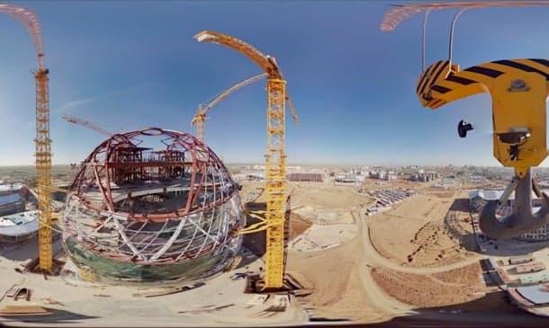 Estado de las obras para la Expo 2017