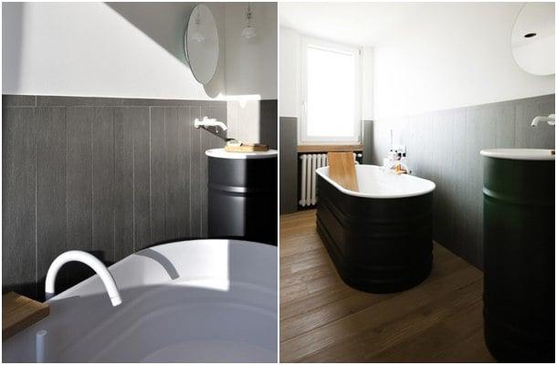 baño en apartamento moderno