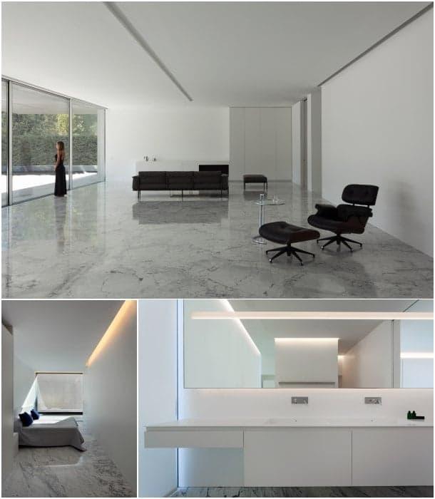 interiores Aluminum House