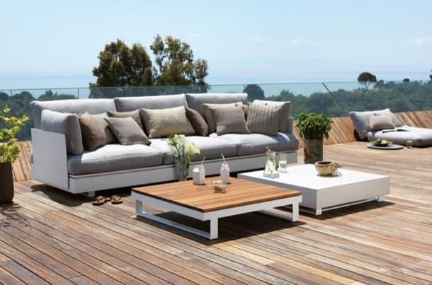 Muebles para el patio colecci n pure de muebles modulares viteo - Muebles de patio ...