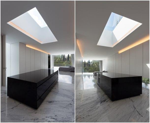vestidor suite Aluminum House