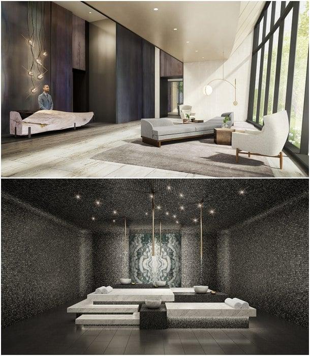 Baño Turco Arquitectura:Esta torre de apartamentos fue diseñada por el estudio de Kohn