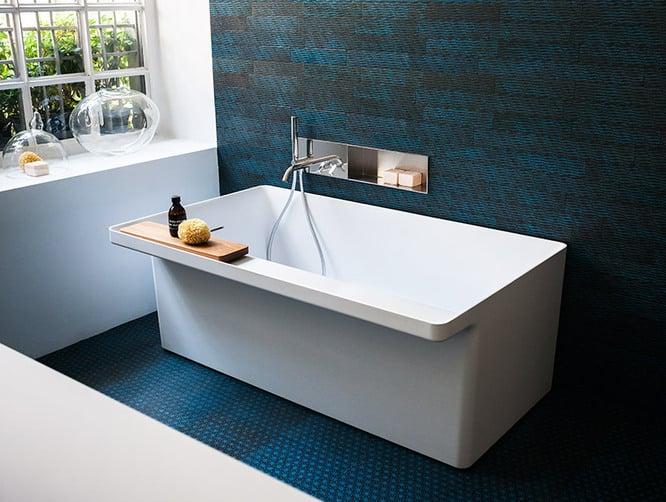 bañera ecológica Marsiglia blanco