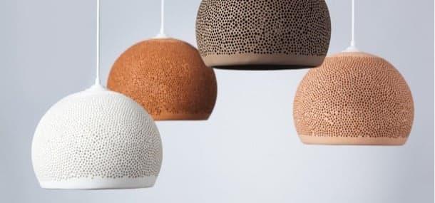 lámpara cerámica SpongeUp!