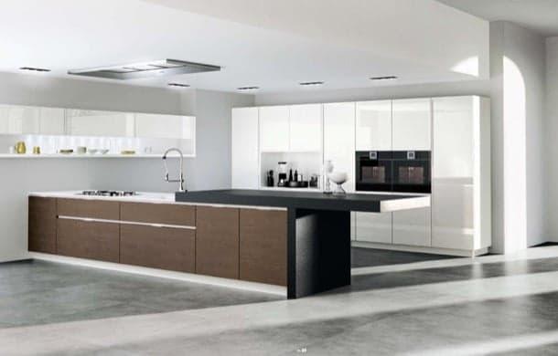 Muebles para la cocina con varias posibilidades de formar isla for Muebles tipo isla para cocina