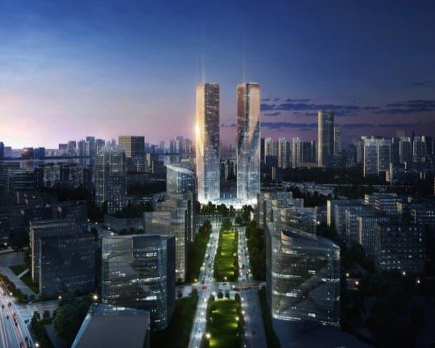 Zhejiang Gate Towers: torres gemelas para crear puerta urbana