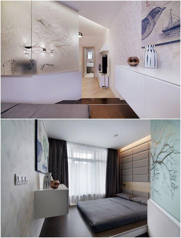 apartamento lujo - dormitorio