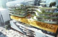 Torre mixta para la editorial Xinhua, diseñada por Aedas