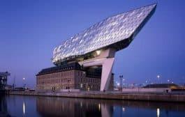 Fotos del edificio Autoridad Portuaria de Amberes