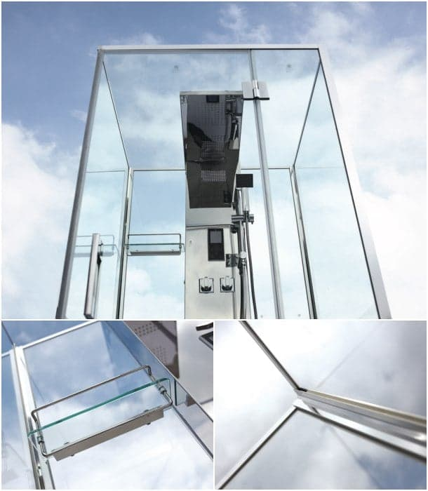 Cabinas De Ducha Wasser:La ducha de vapor la realiza gracias a un generador de 28 kW Solo