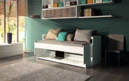 Ritzy: una práctica cama escritorio para aprovechar espacio