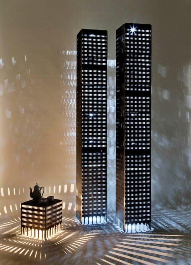 Lámparas de piso WTC