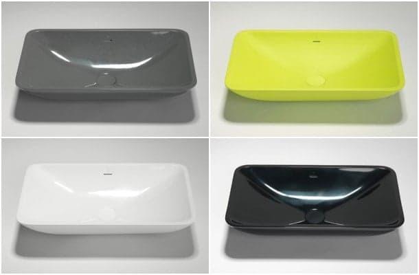 lavabo de encimera Blu-Stone colores