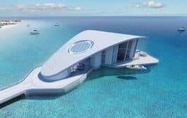 Sting Ray: una lujosa casa flotante, de Schopfer Associates