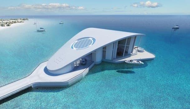lujosa casa flotante sting-ray