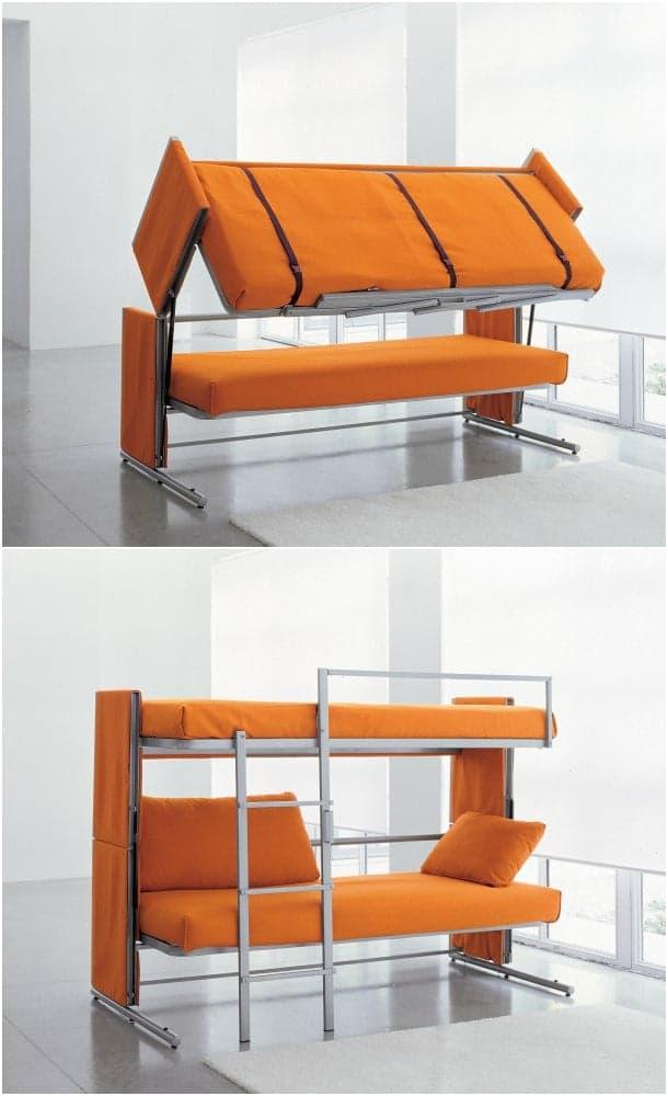 DOC sofá convertible en dos camas