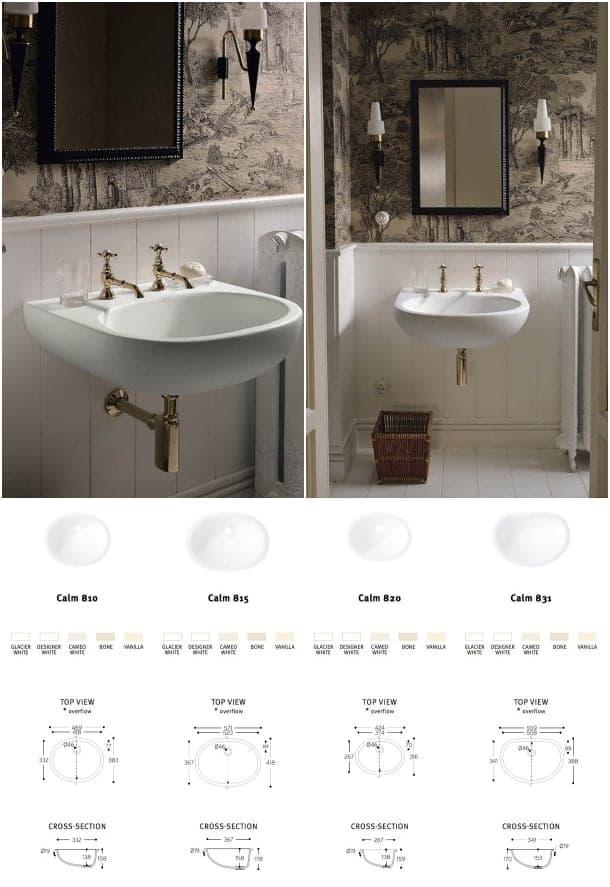lavabos corian diseño Calm
