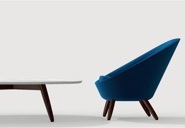sillón y mesa de naoto-fukasawa
