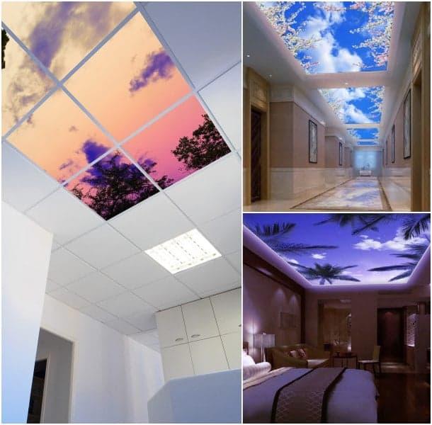 Design decoraci n techo - Paneles decorativos para techos ...