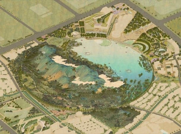 lion mountain park plan-urbano