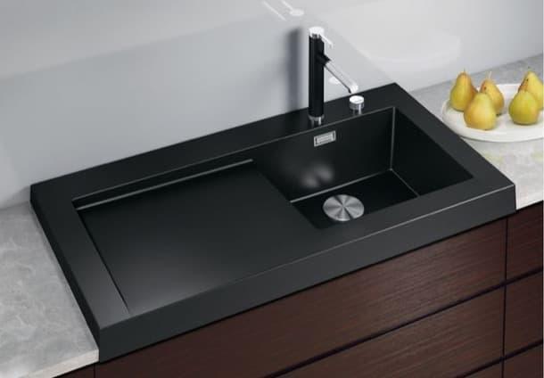 modex fregadero silgranit color-negro
